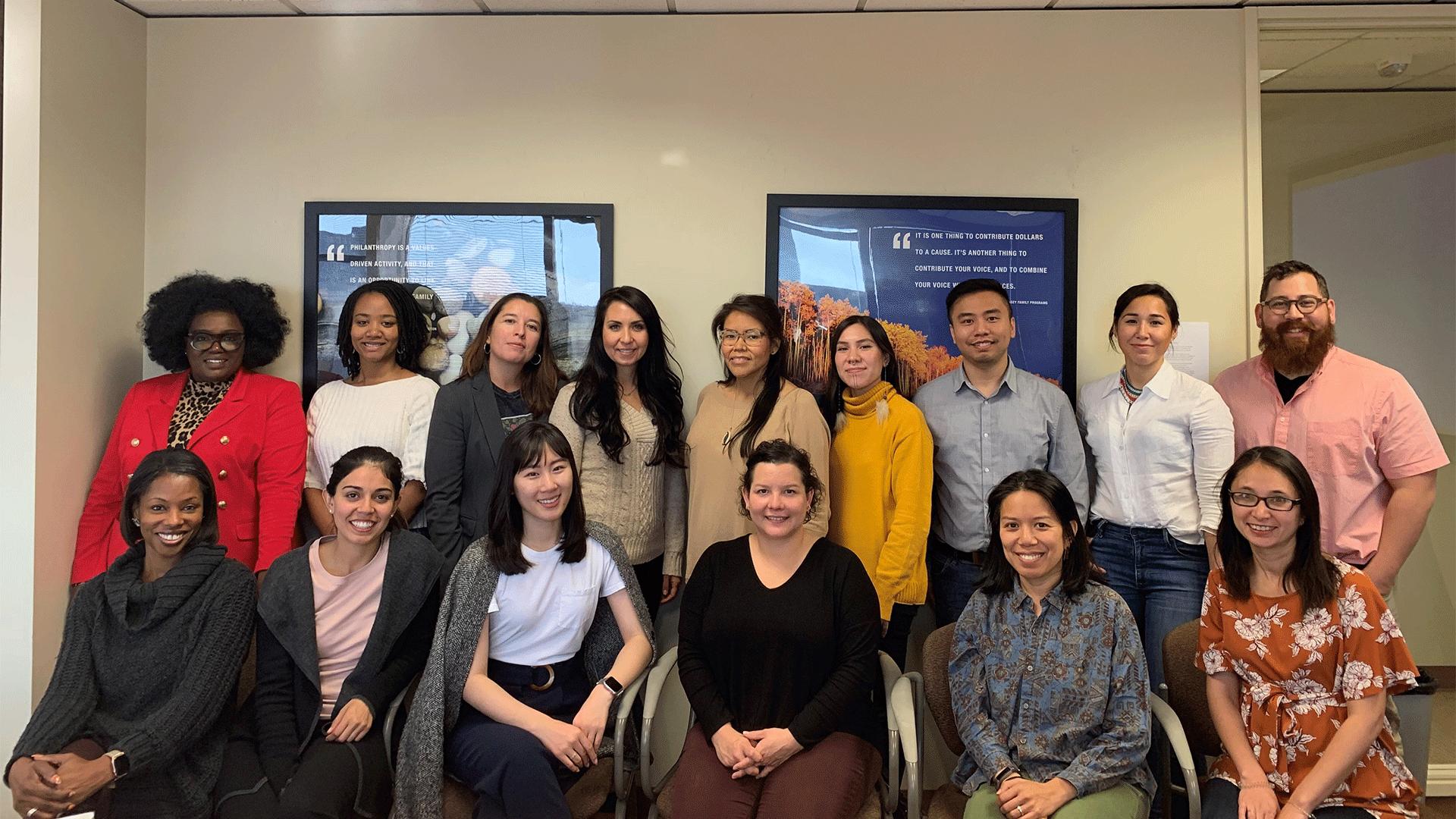 Group photo of Philanthropy Northwest's Cohort 3 of Momentum Fellows